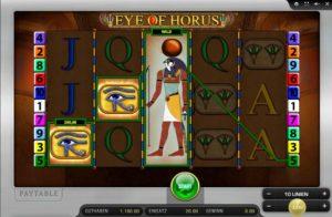 eye of horus online spielen