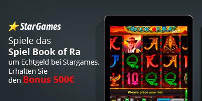 Spiel Book of Ra um Echtgeld