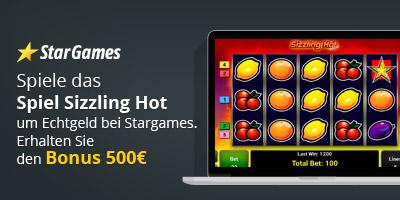 Spiel Sizzling Hot um Echtgeld