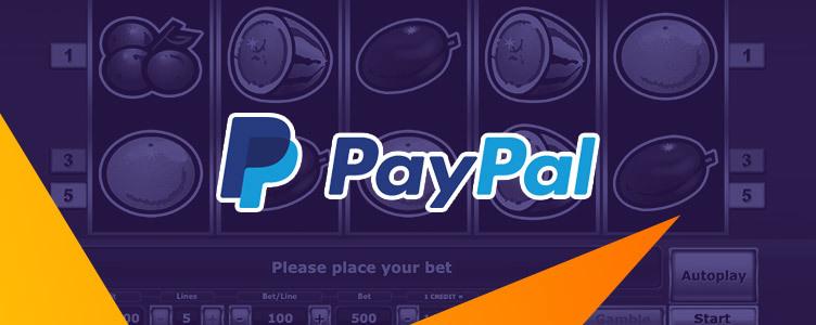 Online Casino Paypal Einzahlen